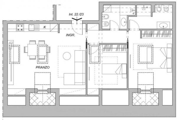 Appartamento in vendita a Chiavari, Centro Storico, 108 mq - Foto 2