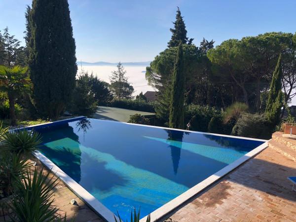 Villa in vendita a Perugia, Via, Con giardino, 420 mq