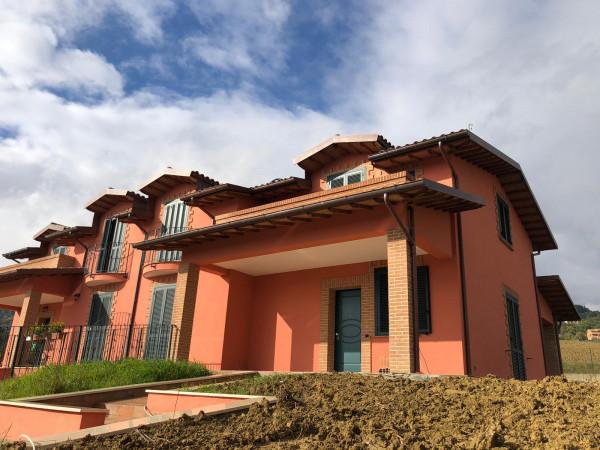 Villa in vendita a Perugia, Via, Con giardino, 300 mq
