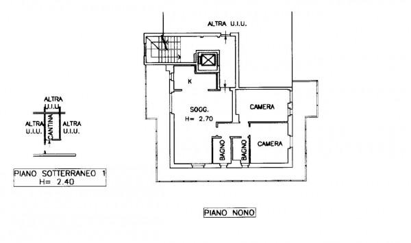 Appartamento in vendita a Milano, Morivione, 106 mq - Foto 2