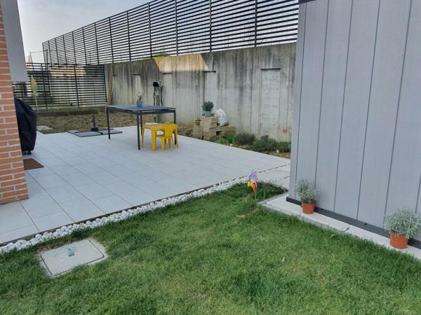 Villetta a schiera in vendita a Borghetto Lodigiano, Residenziale, Con giardino, 173 mq - Foto 16