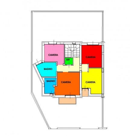 Villetta a schiera in vendita a Borghetto Lodigiano, Residenziale, Con giardino, 173 mq - Foto 42
