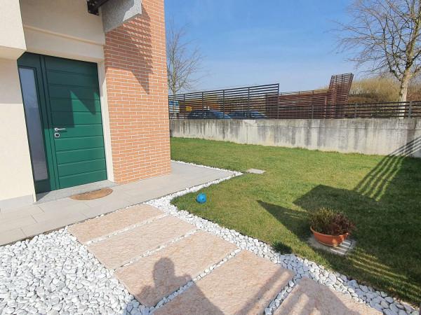 Villetta a schiera in vendita a Borghetto Lodigiano, Residenziale, Con giardino, 173 mq - Foto 24