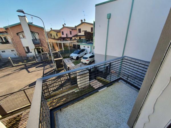 Villetta a schiera in vendita a Borghetto Lodigiano, Residenziale, Con giardino, 173 mq - Foto 78