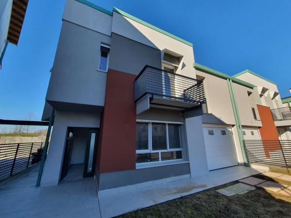 Villetta a schiera in vendita a Lodi, Residenziale A 10 Minuti Da Lodi, Con giardino, 173 mq - Foto 52