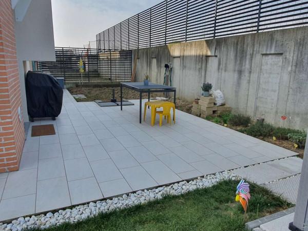 Villetta a schiera in vendita a Borghetto Lodigiano, Residenziale, Con giardino, 170 mq - Foto 6