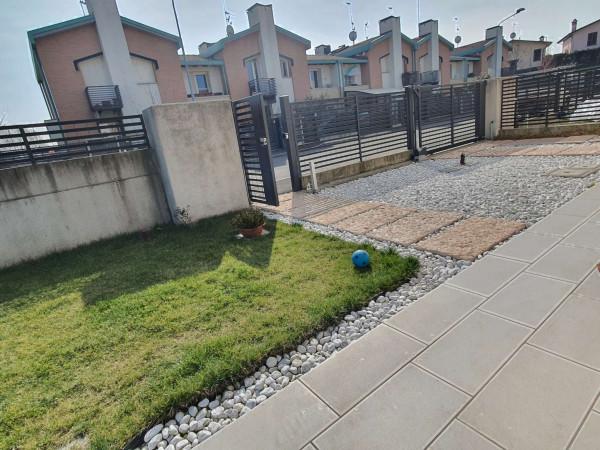 Villetta a schiera in vendita a Borghetto Lodigiano, Residenziale, Con giardino, 170 mq - Foto 12