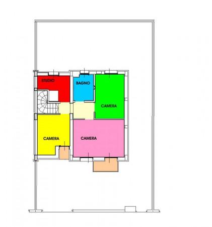 Villetta a schiera in vendita a San Colombano al Lambro, Residenziale A 1 Km, Con giardino, 170 mq - Foto 23