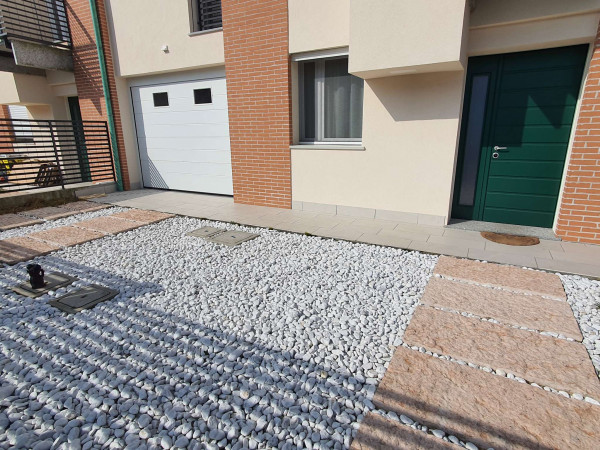Villetta a schiera in vendita a San Colombano al Lambro, Residenziale A 1 Km, Con giardino, 170 mq - Foto 12
