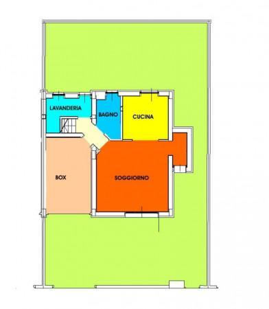 Villetta a schiera in vendita a San Colombano al Lambro, Residenziale A 1 Km, Con giardino, 170 mq - Foto 22