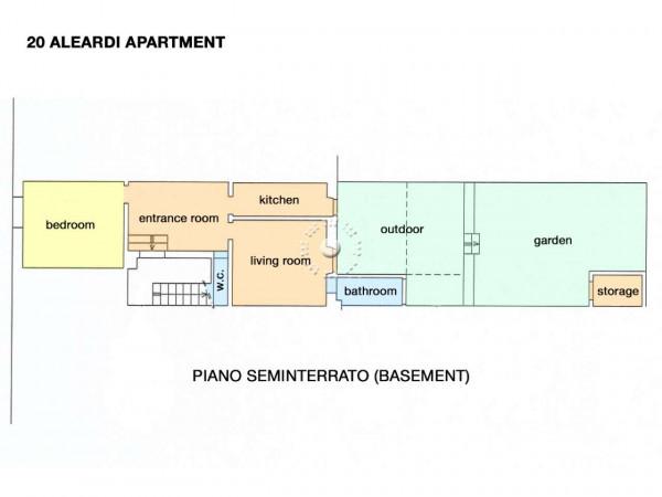 Appartamento in affitto a Firenze, Arredato, con giardino, 53 mq - Foto 5