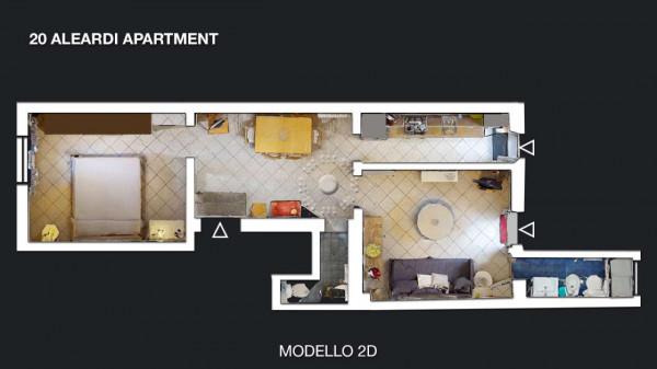 Appartamento in affitto a Firenze, Arredato, con giardino, 53 mq - Foto 2