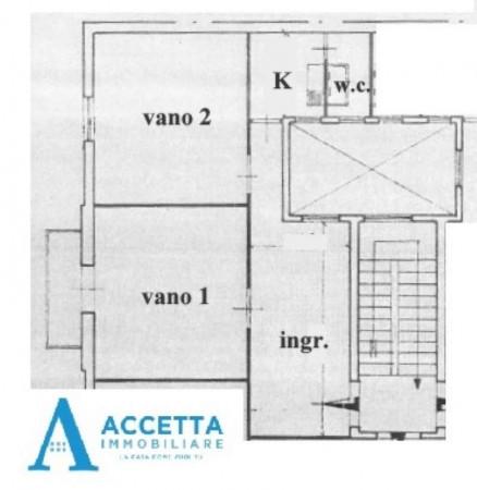 Appartamento in vendita a Taranto, Tre Carrare, Battisti, 74 mq - Foto 2