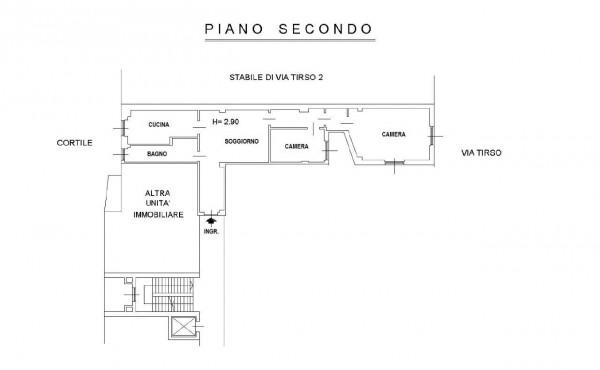 Appartamento in vendita a Milano, Ripamonti, 80 mq - Foto 2