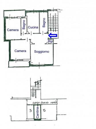 Appartamento in vendita a Collegno, Terracorta, Con giardino, 100 mq - Foto 2