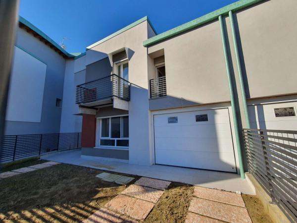 Villetta a schiera in vendita a San Colombano al Lambro, Residenziale A 1km Da San Colombano, Con giardino, 173 mq - Foto 72