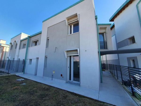 Villetta a schiera in vendita a San Colombano al Lambro, Residenziale A 1km Da San Colombano, Con giardino, 173 mq - Foto 48