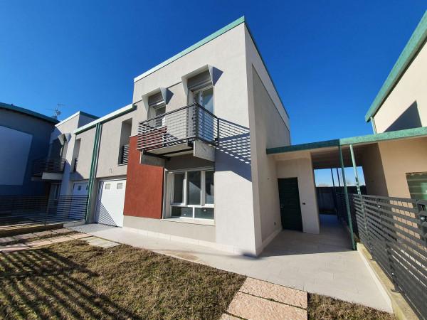 Villa in vendita a Sant'Angelo Lodigiano, Residenziale A 5 Minuti Da Sant'angelo Lodigiano, Con giardino, 161 mq - Foto 64