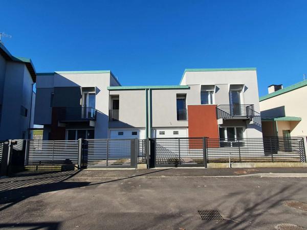 Villa in vendita a Sant'Angelo Lodigiano, Residenziale A 5 Minuti Da Sant'angelo Lodigiano, Con giardino, 161 mq - Foto 45