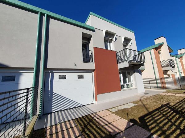 Villa in vendita a Sant'Angelo Lodigiano, Residenziale A 5 Minuti Da Sant'angelo Lodigiano, Con giardino, 161 mq - Foto 24