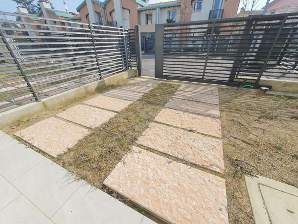 Villetta a schiera in vendita a Melegnano, Residenziale A 20 Minuti Da Melegnano, Con giardino, 173 mq - Foto 2