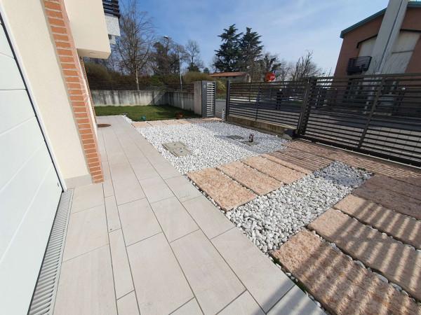 Villetta a schiera in vendita a Melegnano, Residenziale A 20 Minuti Da Melegnano, Con giardino, 170 mq - Foto 3
