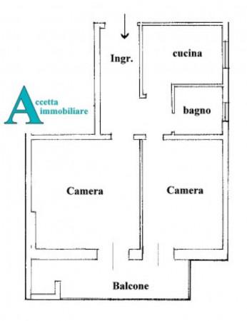 Appartamento in affitto a Taranto, Borgo, 56 mq - Foto 2