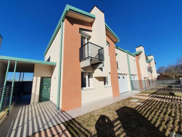 Villetta a schiera in vendita a Melegnano, Residenziale A 20 Minuti Da Melegnano, Con giardino, 168 mq - Foto 20