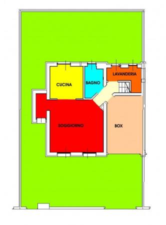 Villetta a schiera in vendita a Melegnano, Residenziale A 20 Minuti Da Melegnano, Con giardino, 168 mq - Foto 3