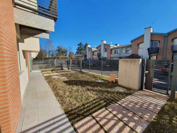 Villetta a schiera in vendita a Melegnano, Residenziale A 20 Minuti Da Melegnano, Con giardino, 168 mq - Foto 5