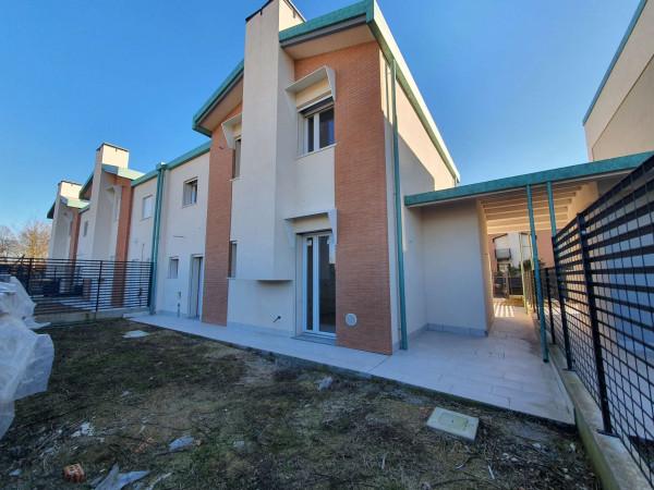 Villetta a schiera in vendita a Melegnano, Residenziale A 20 Minuti Da Melegnano, Con giardino, 168 mq - Foto 21