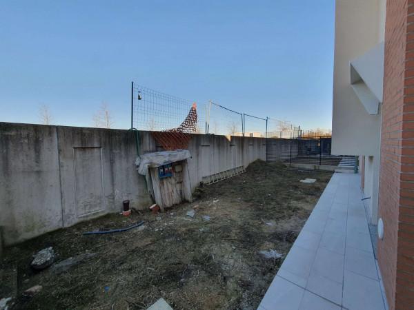 Villetta a schiera in vendita a Melegnano, Residenziale A 20 Minuti Da Melegnano, Con giardino, 168 mq - Foto 7