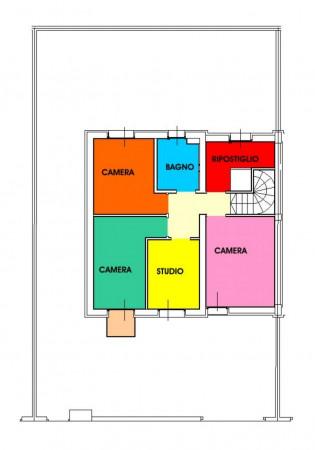 Villa in vendita a Borghetto Lodigiano, Residenziale, Con giardino, 168 mq - Foto 2