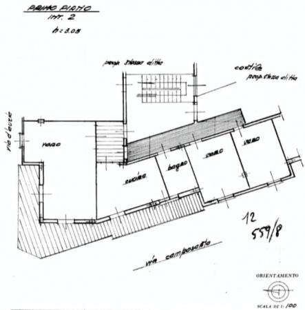 Appartamento in vendita a Sant'Anastasia, Centrale, 120 mq - Foto 3