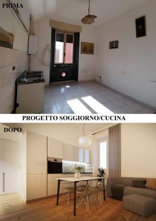 Appartamento in vendita a Milano, Con giardino, 56 mq - Foto 11