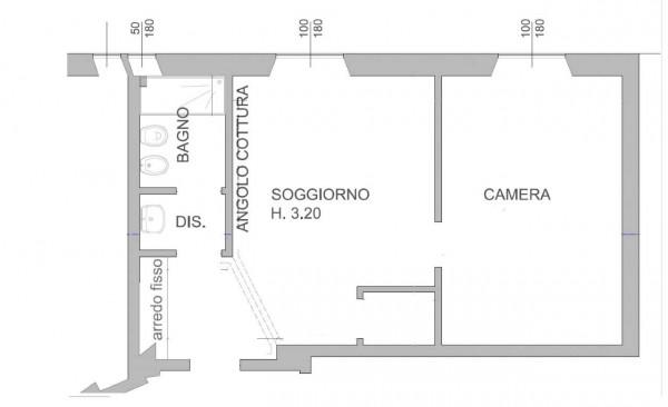 Appartamento in vendita a Milano, Con giardino, 56 mq - Foto 3