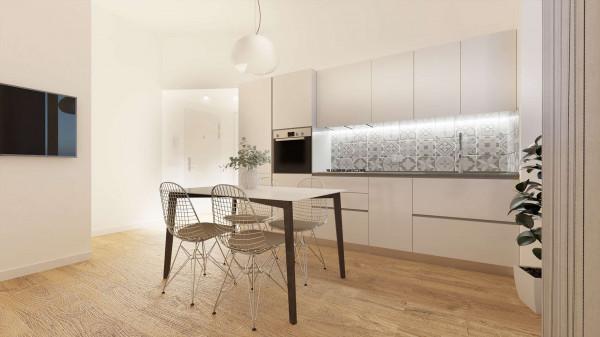 Appartamento in vendita a Milano, Con giardino, 56 mq
