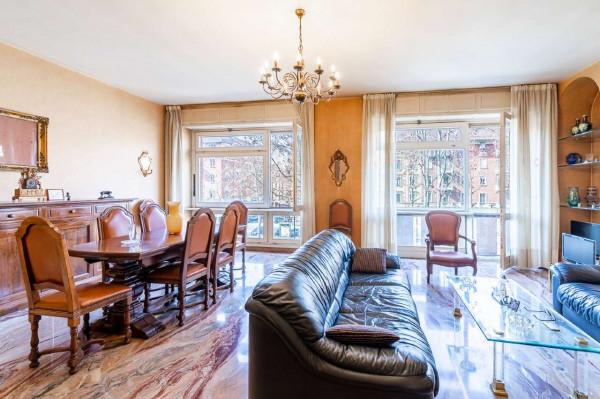 Appartamento in vendita a Torino, Con giardino, 155 mq