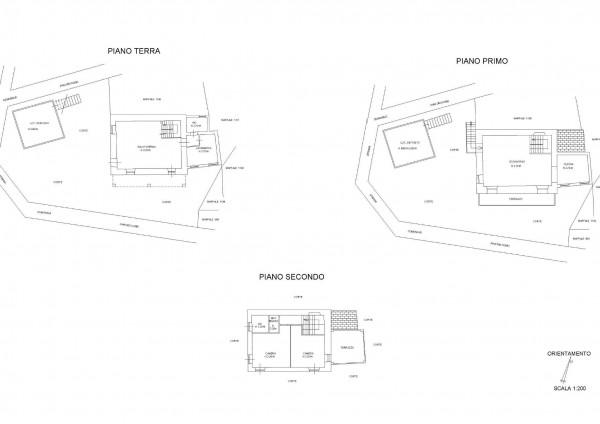 Casa indipendente in vendita a San Colombano Certenoli, Residenziale, Arredato, con giardino, 180 mq - Foto 2