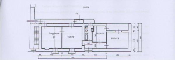 Appartamento in vendita a Bussoleno, Centrale, 110 mq - Foto 2