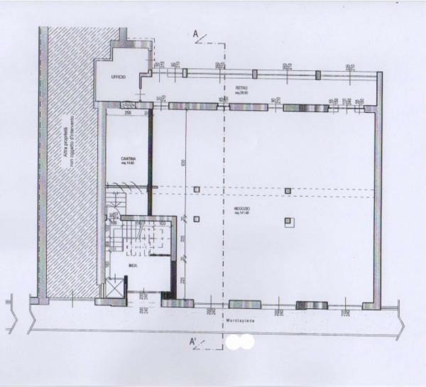 Negozio in affitto a Sant'Antonino di Susa, Centrale, 200 mq - Foto 2