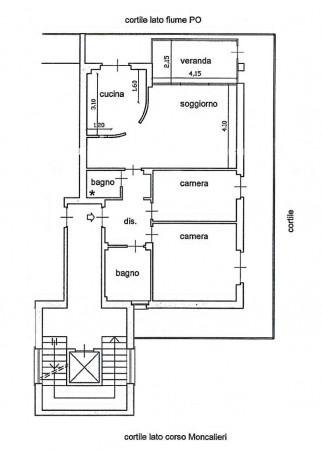 Appartamento in vendita a Torino, Cavoretto, Con giardino, 115 mq - Foto 2