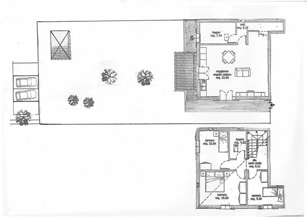Casa indipendente in vendita a Medicina, A 2 Km Dal Centro Del Paese, Con giardino, 120 mq - Foto 2