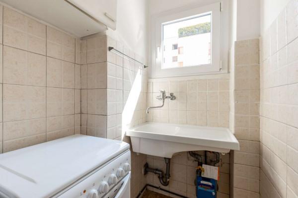 Appartamento in vendita a Milano, Ripamonti, Con giardino, 30 mq - Foto 17