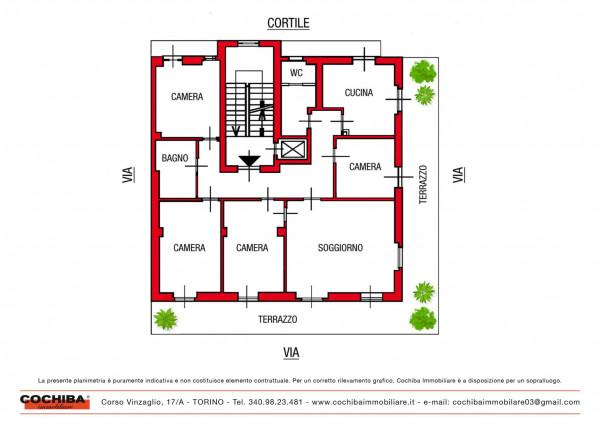 Appartamento in vendita a Torino, 190 mq - Foto 3