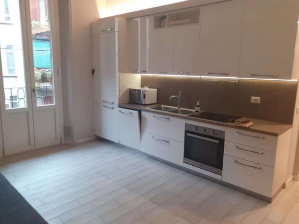 Appartamento in affitto a Milano, De Angeli, Arredato, 75 mq