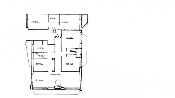 Appartamento in vendita a Milano, Bande Nere, Con giardino, 180 mq - Foto 2