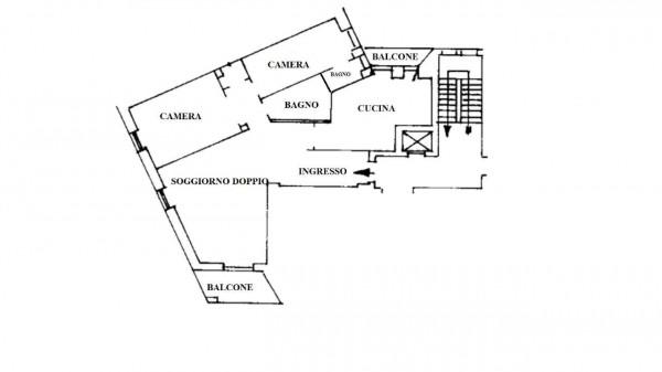 Appartamento in affitto a Milano, 100 mq - Foto 19