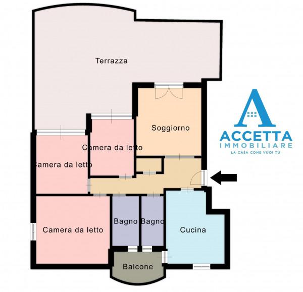 Appartamento in vendita a Taranto, Talsano, Con giardino, 111 mq - Foto 2