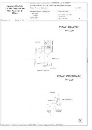Appartamento in vendita a Sesto San Giovanni, Rondinella, 55 mq - Foto 2